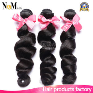 Lovely Hair Peruvian Loose Wave with Free Shipping pictures & photos