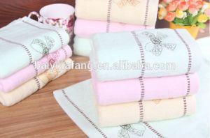 Hot Selling High Quality 100% Cotton Face Towel and Hotel Towel Model No FT101805 pictures & photos