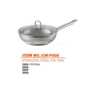 Stainless Steel Frypan - Belly Shape pictures & photos