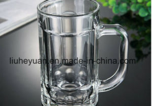 375ml High Quality, High Clear, Beer Glass Cup with Handle, Water or Tea Glass Cup pictures & photos