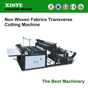 Hqxy-1000 Non Woven Roll Fabric Cutting Machine pictures & photos