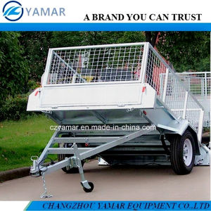 Australia Standard Tipping Trailer with Checker Plate pictures & photos