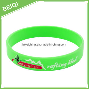 High Quality Cheap Custom Personalized Silicone Bracelets pictures & photos