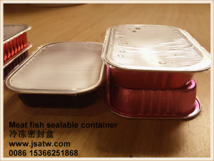 Restaurant Aluminum Foil Catering Containers for Food Packaging pictures & photos