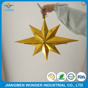 Double Layers Mirror Gold Chrome Powder Coating for Steel Decorations pictures & photos