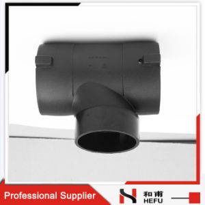 Water Supply Drain Pipe Joints Electrofusion Pipe Fitting Equal Plastic Tee pictures & photos