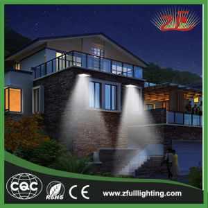 6W Lower Cost Solar Powered Motion Security Light pictures & photos