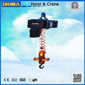 0.5t Brima European BMS Fixed Type Electric Chain Hoist pictures & photos