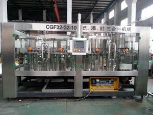 SGS Ce Cgf32-32-10 Water Filling Line/ Filling Machine for Pet Bottle