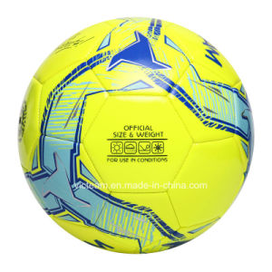 Regular Size 5 Vibrant Color TPU EVA Soccer Ball pictures & photos