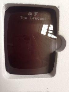 Polarized Tac Lens for Sunglasses Optical Lens Tea Gradual