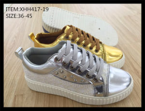 Fashion Injection Shoes Skate Shoes Leisure Shoes (XHH417-19) pictures & photos