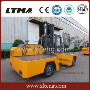 3 Ton Side Load Forklift Truck with 3600mm Lifting Height pictures & photos