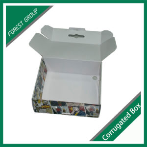 Colorful Printed Corrugated Box with Handle pictures & photos