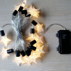 Corridor Brightness Decorative Soft Romantic Hanging Christmas String LED Lights with Flexible Line pictures & photos