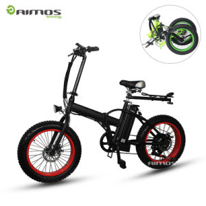 20inch 750W Foldable Fat Tire Mountain Electric Bike pictures & photos