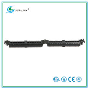 24 Port CAT6 UTP Patch Panel Angle Shape pictures & photos