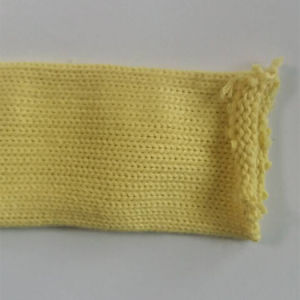 Thermal Insulating Knitted Aramid Sleeve for Wire Cable Hose Protection pictures & photos