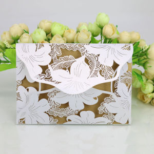 2017 New Style High Quality Customized Wedding Invitation Card pictures & photos