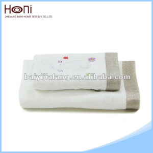 China Supplier Embroidered High Quality Face Towel pictures & photos