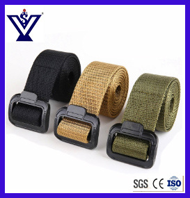 Nylon Tactical Military Belt Adjustable Webbing Belt (SYSG-1897) pictures & photos