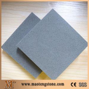 Popular Small Grain Grey Quartz Tile for House Decoration pictures & photos