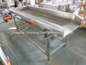 FT-1800 Stainless Steel Vibration Cabbage Dryer, Vegetable Dewatering Machine pictures & photos