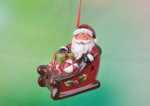 Ceramic Traditional Hand Painted Christmas Tree Decorations pictures & photos