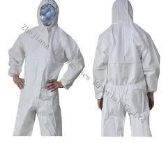 ISO9001 S. F Microporous Nonwoven Fabric for Type5&6 Protective Coverall pictures & photos