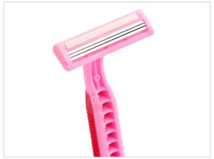 Sexy Pink Color Pubic Hair Safety Razor for Lady pictures & photos