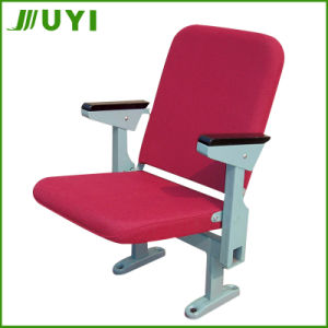JY-308 Chinese Hot Sale Commerical Fabric Folding Cheap Theater Chairs pictures & photos