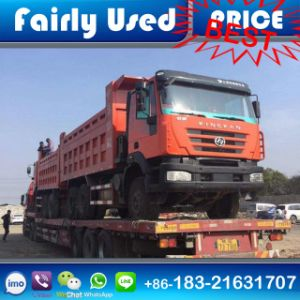 Second Hand Used 6X4 Iveco Kingkan Hongyan Dump Tipper Truck pictures & photos