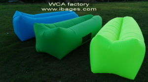 Nylon Hangout Lamzac Inflatable Sleeping Air Couch Bed Beach (D247) pictures & photos