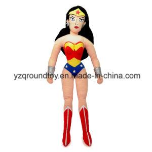 Wonderful Woman Plush Doll Soft Stuffed Quality Cartoon Custom Toy pictures & photos
