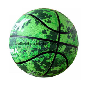 Custom Logo Junior Size 3 Rubber Basketball pictures & photos