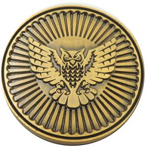 Custom High Polish Ancient Eagle Coin for Souvenir (MC-025) pictures & photos