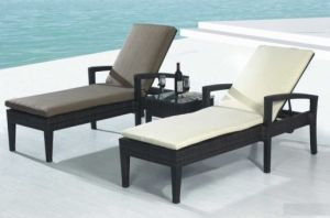 Outdoor Rattan Furniture Leisure Lounge Bed-7 pictures & photos