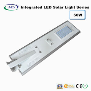 50W PIR Sensor Integrated LED Solar Street Light pictures & photos