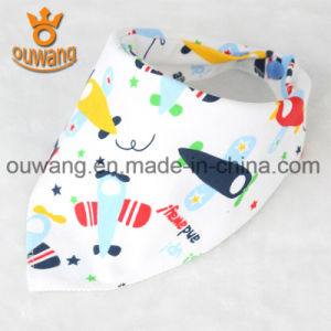 Soft Comfortable High Quality Cotton Baby Bandana Bib pictures & photos