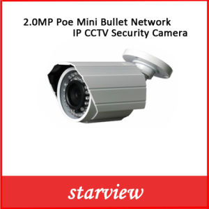 2.0MP Poe Mini Bullet Network IP CCTV Security Camera pictures & photos