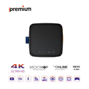 Ipremium Migo 4k HD IPTV TV Box Set-Top Box WiFi Media Player with Mickyhop OS and Stalker Server pictures & photos