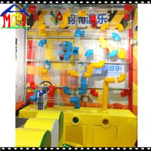 Indoor Soft Playground Set Ball Pool Pipeline Kids Entertainment pictures & photos