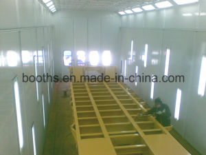 Used Car Paint Booth for Iron, Steel pictures & photos