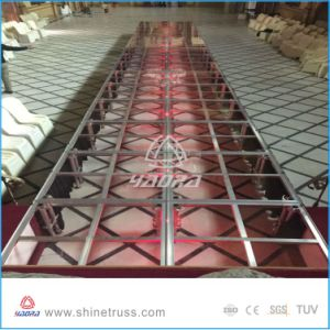 Aluminum Stage Portable Stage with Wheels pictures & photos