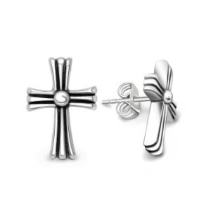 Cross Stud Earrings Men & Women Fashion Accessories Punk Style pictures & photos