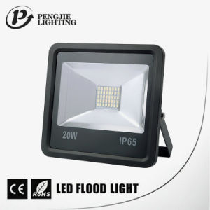 Power Saving Sanan Square 20W 120° Beam Angle Aluminium Flood Lighting LED pictures & photos
