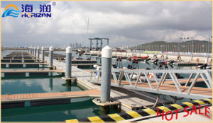 China Manufactured Aluminum Alloy Gangway Ladder with Handrail pictures & photos