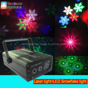 Red Green 48 Patterns Disco Laser Light RGBW LED Snowflake Light Stage Light pictures & photos
