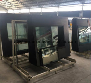 Bus Side Window Glass for Huanghai pictures & photos