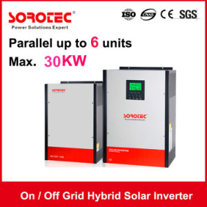 on/off Grid Hybrid Solar Inverter 4kVA 48V with 80A MPPT Controller pictures & photos